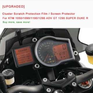 KTM 1050/1090/1290 Duke GT Speedometer Screen Protector