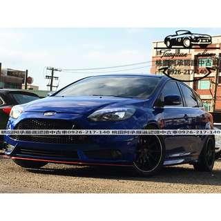 【FB搜尋桃園阿承】福特 超人氣FOCUS 2014年 2.0 藍色 二手車 中古車