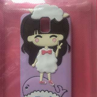 Lavander Sheep Girl Jelly case for Samsung Galaxy Note 3