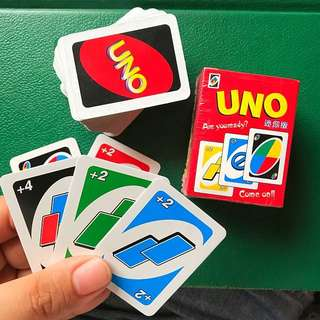 UNO cards small 2inches playing cards