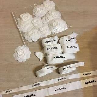 Chanel ribbons flower 香奈兒、絲帶、山茶花