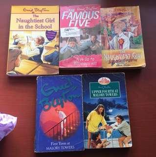 Old enid blyton paperbacks