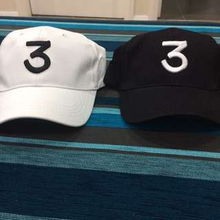 Chance The Rapper '3' Hats