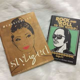stylized by: liz uy, rock and roll to the world by: ryan rems