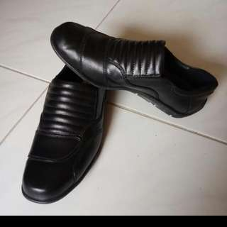 Half Cut Riding Leather shoes