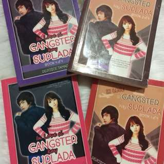 inlove si gangster kay suplada bookas 1-4 by: rejoice tamad