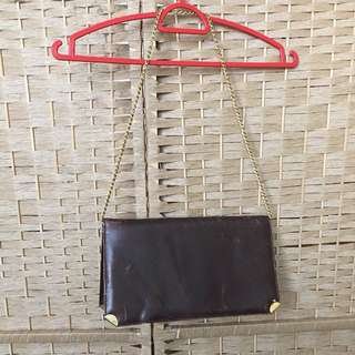 Beg vintage tali emas