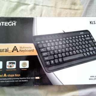 A4 Tech KLS -5 Natural A Multimedia USB Keyboard