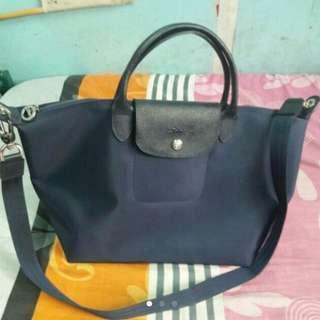 Authentic Navy Blue Longchamp