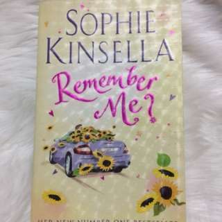 Remember me? by: Sophie Kinsella