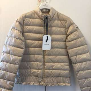 Moncler brand new 2018 spring beige