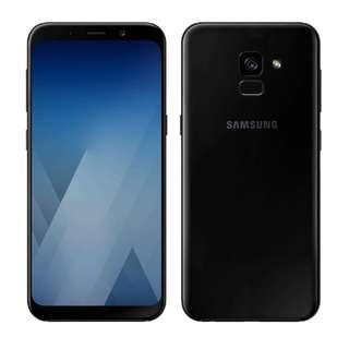 Brand New Samaung A8 (2018) A530fd 64g Black