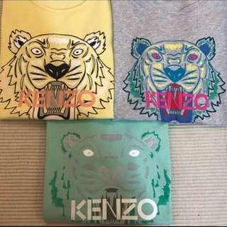 保證正品 3件ㄧ起賣 Kenzo S XS M