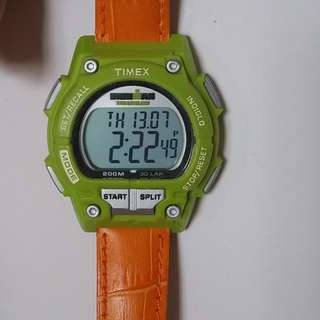 TIMEX Rare 200M WR shock resist Watch - same  module as French Special forces issued TIMEX