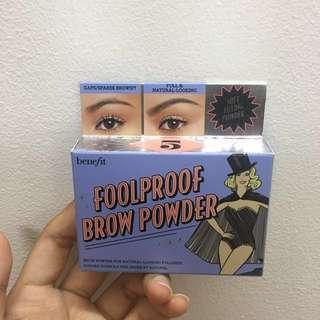 INSTOCK Benefit foolproof eyebrow powder
