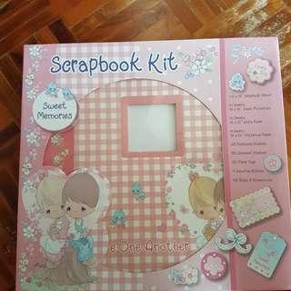 Precious moment scrapbook kit