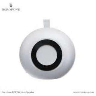 銀色Borofone BP1 藍牙喇叭