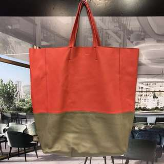 Celine Leather Tote Bag