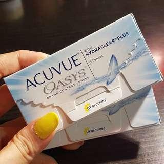 Acuvue Oasys -7.50 & -8.00
