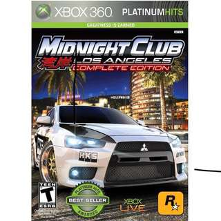 Midnight Club Los Angeles Complete Edition #contiki2018 (PRICE REDUCED)