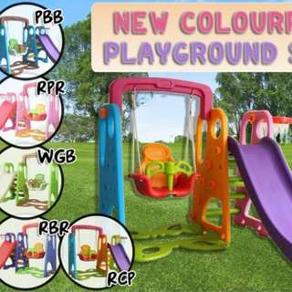 Colourful Playground Set