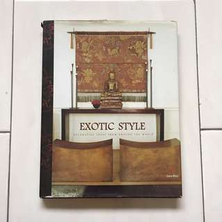 Exotic style interior design book