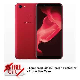 Oppo F5 Red Edition Original Malaysia Set 6GB Ram + 64GB Rom 20MP Selfie Camera