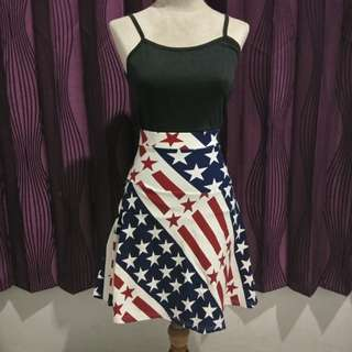 Rok motif USA
