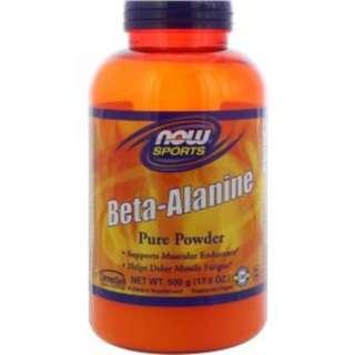 Now Foods Beta-Alanine, Pure Powder, 17.6 oz (500 g)