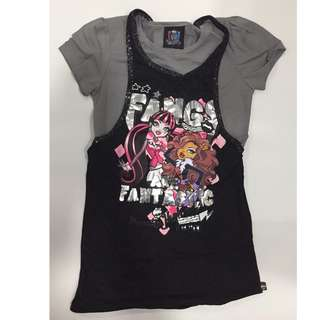 One Piece Set Tank Singlet Monster High