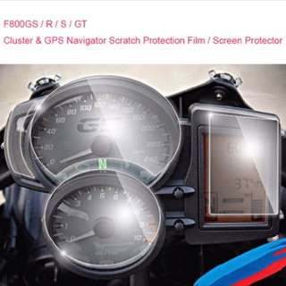 BMW F800GS/S/R/GT Speedometer Screen Protector