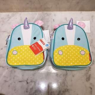 Skip hop lunch box utk anak2 (gambar unicorn)