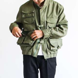 🚚 Multifunction Military Jacket 多口袋軍事風機能外套