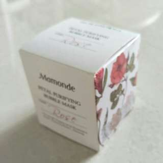 Mamonde - petal purifying bubble mask