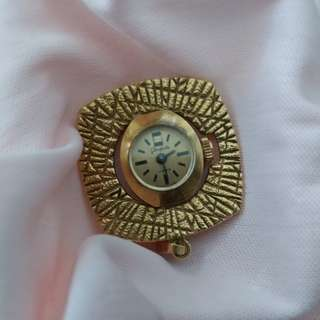 Vintage Germany Glashutte Watch Pendant 古董德國錶