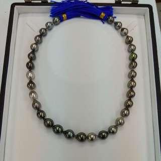 大溪地黑珍珠頸鍊(Tahiti Pearl Necklace)
