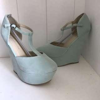 Wedge High Heels