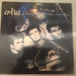 a-ha ‎– Stay On These Roads, Vinyl LP, Warner Bros. Records ‎– 925 733-1, 1988, Germany