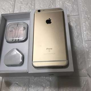 Iphone 6splus 16gb gold 100%working original
