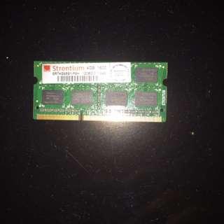 Strontium 4GB DDR3-1600 Sodimm