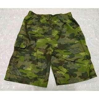 SALE NEW camouflage boys garterized board shorts