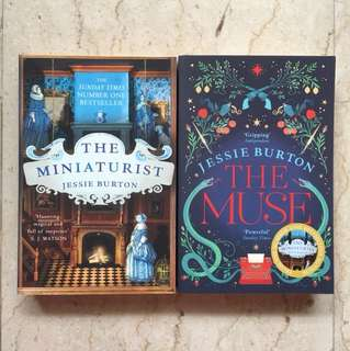 The Miniaturist and The Muse by Jessie Burton
