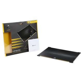 Corsair MM600 Dual Sided Aluminum Gaming Mouse Pad (352mm × 272mm × 5mm, CH-9000104-WW)