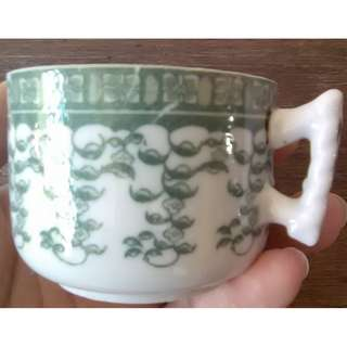 Antique tea cups