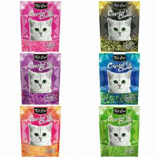 Kit Cat Crystal Clumping  Cat Litter