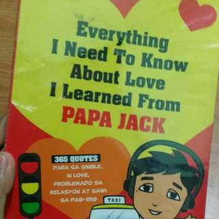 Everything I need to know about love I learned from Papa Jack