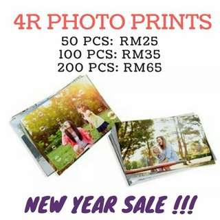 4R Photo Printing Service