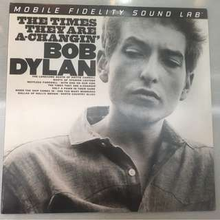 Bob Dylan ‎– The Times They Are A-Changin', 2x Vinyl LP, Limited Edition No. 003190, Mobile Fidelity Sound Lab ‎– MFSL 2-421, 2014, USA