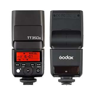 Godox TT350S 2.4G TTL Speedlite Flash for Sony Mirrorless Cameras - GN36 HSS(Max.1/8000s) 0.1-2.2s Recycle Time 210 Full Power Flashes 22 Steps of Power Output(1/1-1/128) 24-105mm Auto/Manual Zooming  --  537