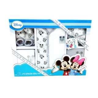 Disney 6pcs Newborn Clothing Gift Set